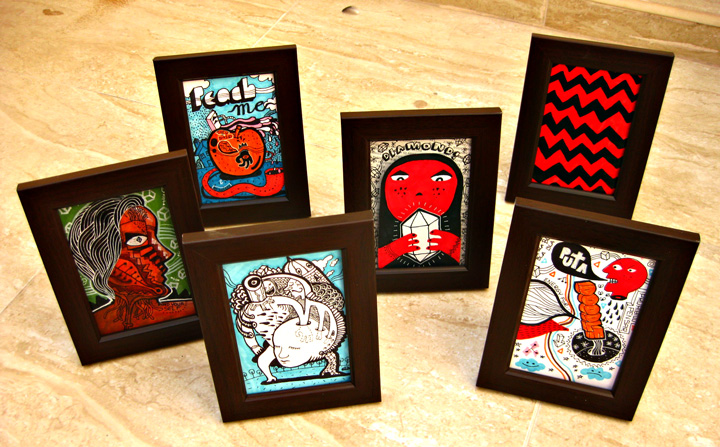 New Drawings on frames !