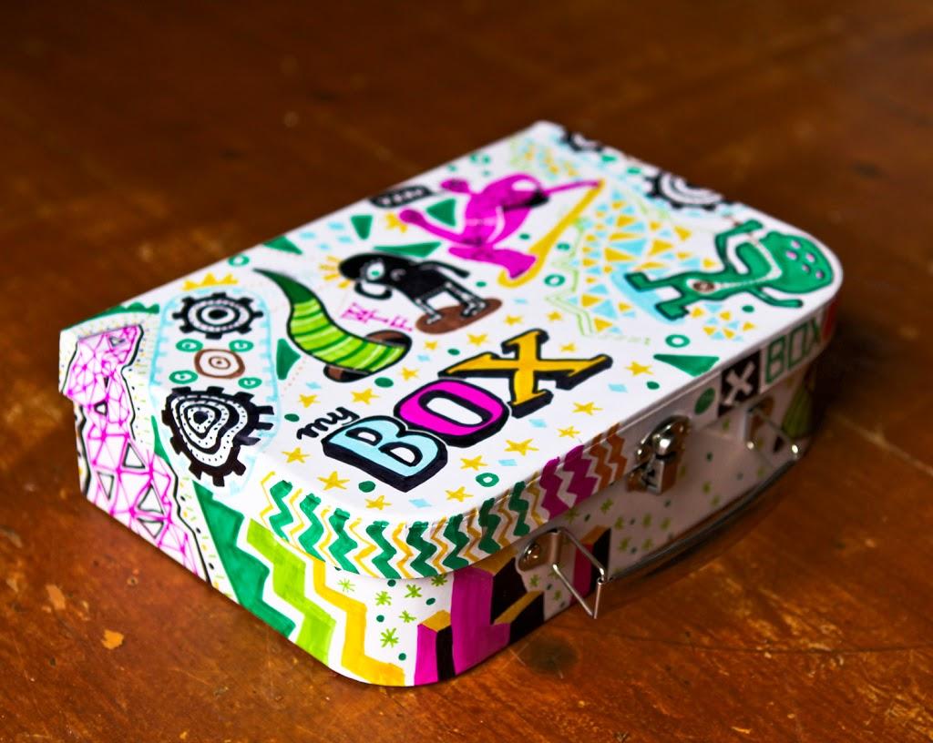 Doodled Box