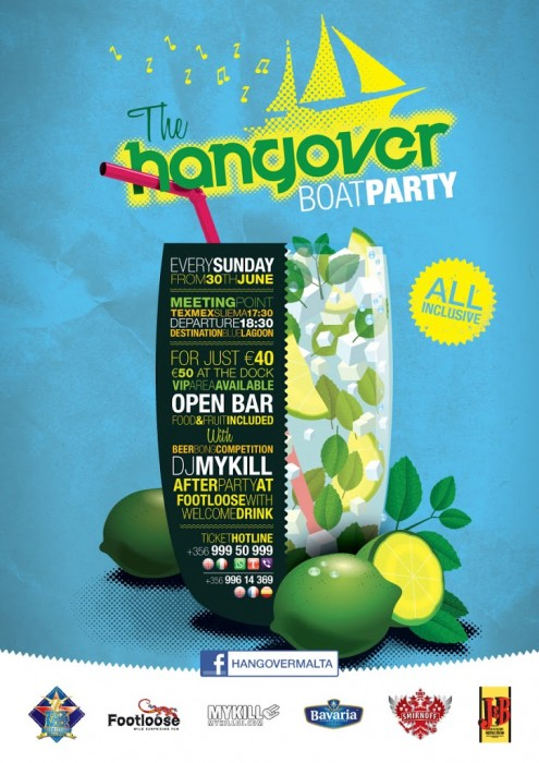 Hangover Boat Party 2013