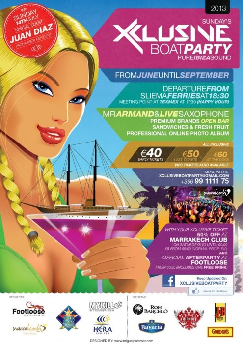 Xclusive Boat Party 2013