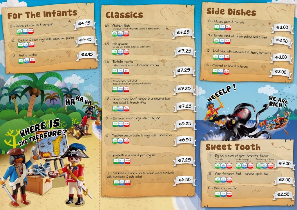 Play Mobile Menu for Kids