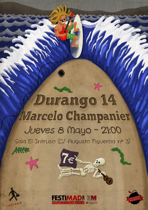 Poster Durango 14 + Marcelo Champanier