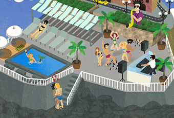 Illustration-Poster-The-Lido-in-Sliema-Featired