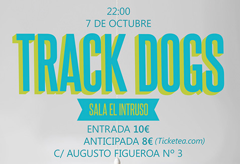 Track Dogs Poster by Miguel Palomar.