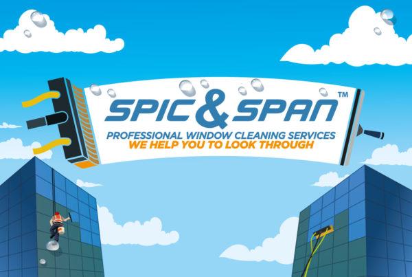 spic&span logo design